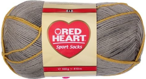 Příze Red Heart Sport socks antracit
