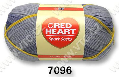 Příze Red Heart Sport socks denim