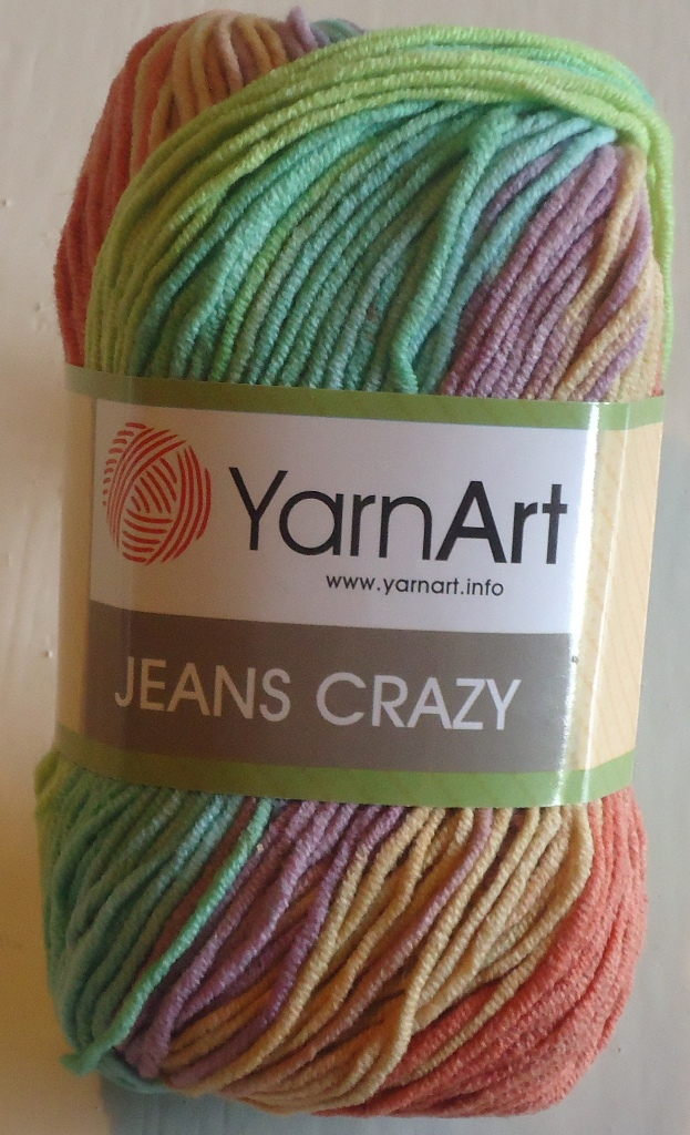 Příze Yarn Art Jeans crazy jaro