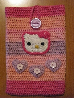 Obal na tablet - Hello Kitty